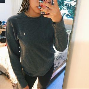 Gray Polo sweater